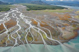 Grewingk Glacier River, Kachemak Bay, Cook Inlet. June 24, 2009. N 59 39.627, W 151 11.003.