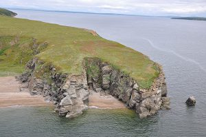 Choris Peninsula, Kotzebue Sound, Chukchi Sea. July 21, 2012. N 66 16.020, W 161 54.520.
